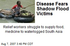 Disease Fears Shadow Flood Victims