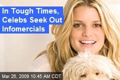 In Tough Times, Celebs Seek Out Infomercials
