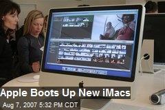 Apple Boots Up New iMacs