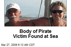 Body of Pirate Victim Found at Sea