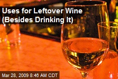 Uses for Leftover Wine (Besides Drinking It)