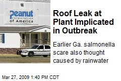 Roof Leak at Plant Implicated in Outbreak