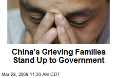 China's Grieving Families Stand Up to Government