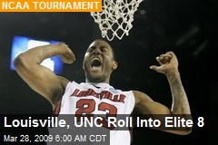 Louisville, UNC Roll Into Elite 8