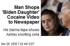 Man Shops 'Biden Daughter' Cocaine Video to Newspaper