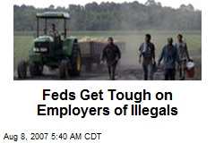 Feds Get Tough on Employers of Illegals