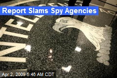 Report Slams Spy Agencies