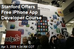 Stanford Offers Free iPhone App Developer Course
