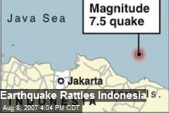 Earthquake Rattles Indonesia