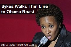 Sykes Walks Thin Line to Obama Roast