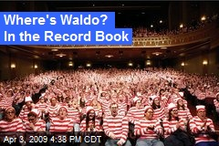 Where's Waldo? In the Record Book