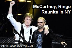 McCartney, Ringo Reunite in NY