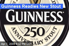 Guinness Readies New Stout