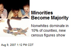 Minorities Become Majority