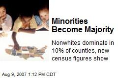 Minorities Become Majority