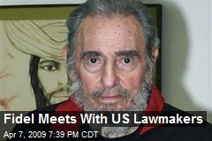 Fidel Meets With US Lawmakers