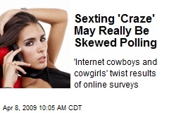 Sexting 'Craze' May Really Be Skewed Polling
