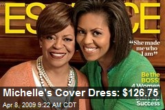 Michelle's Cover Dress: $126.75