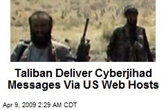 Taliban Deliver Cyberjihad Messages Via US Web Hosts