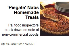 'Piegate' Nabs Homemade Treats