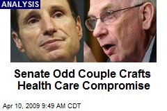 Senate Odd Couple Crafts Health Care Compromise