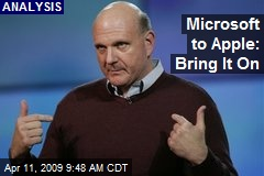 Microsoft to Apple: Bring It On
