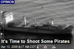 It's Time to Shoot Some Pirates
