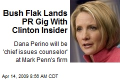 Bush Flak Lands PR Gig With Clinton Insider