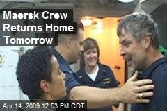 Maersk Crew Returns Home Tomorrow
