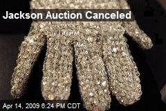 Jackson Auction Canceled