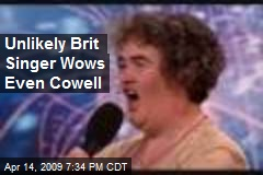 Unlikely Brit Singer Wows Even Cowell