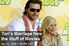 Tori's Marriage Now the Stuff of Movies