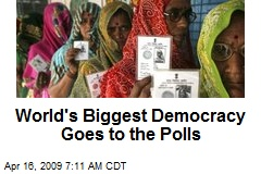 World's Biggest Democracy Goes to the Polls
