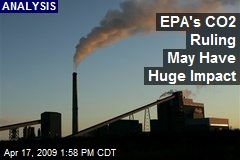 EPA's CO2 Ruling May Have Huge Impact