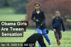 Obama Girls Are Tween Sensation