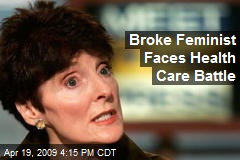 Broke Feminist Faces Health Care Battle