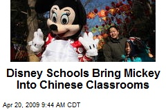 Disney Schools Bring Mickey Into Chinese Classrooms