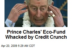 Prince Charles' Eco-Fund Whacked by Credit Crunch