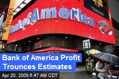 Bank of America Profit Trounces Estimates