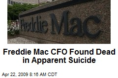 Freddie Mac CFO Found Dead in Apparent Suicide