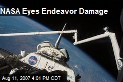 NASA Eyes Endeavor Damage