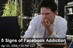 5 Signs of Facebook Addiction