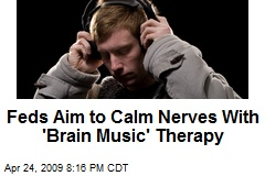 Feds Aim to Calm Nerves With 'Brain Music' Therapy