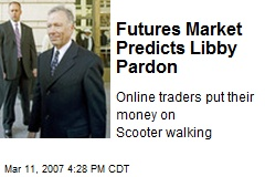 Futures Market Predicts Libby Pardon
