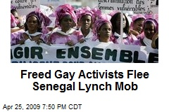 Freed Gay Activists Flee Senegal Lynch Mob