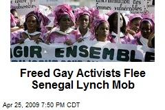 Freed Gay Activists Flee Senegal Lynch Mob