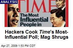 Hackers Cook Time 's Most- Influential Poll; Mag Shrugs