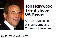 Top Hollywood Talent Shops OK Merger