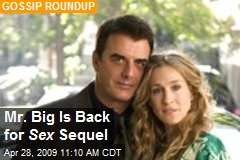 Mr. Big Is Back for Sex Sequel