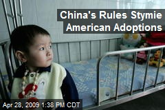 China's Rules Stymie American Adoptions